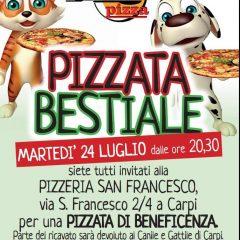 Pizzata bestiale!
